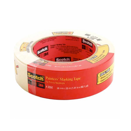 2050 MASKING TAPE FOR GENERAL PAINTING 1.41IN X 60YD 24/CS