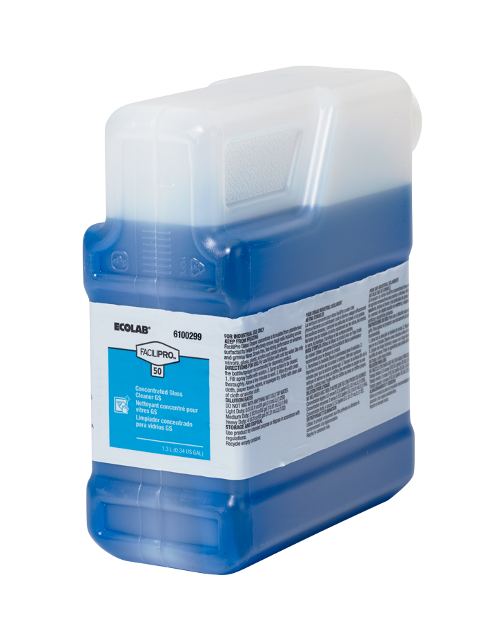 FACILIPRO QC 50 GLASS CLEANER GS ULTRA CONCENTRATED BLUE