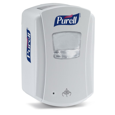 PURELL LTX-7 DISPENSER TOUCH FREE WHITE 700ML