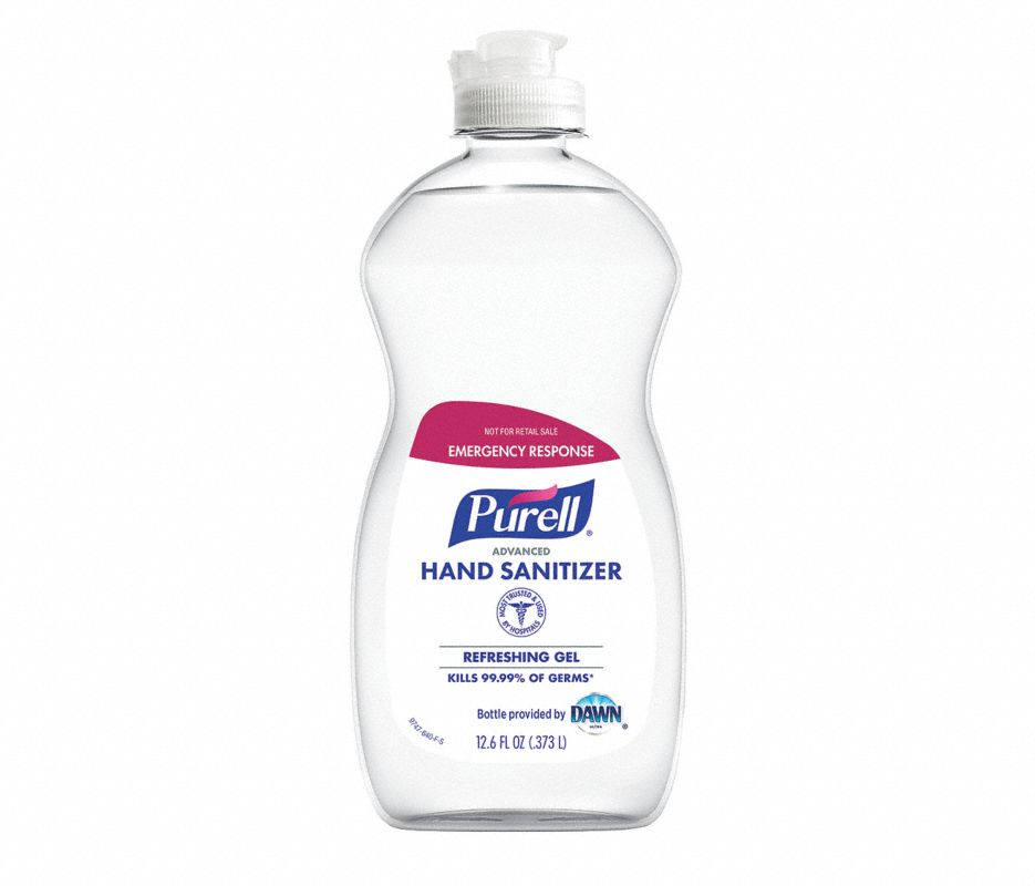 PURELL HAND SANITIZER 12.6OZ DAWN BOTTLE 12/CS **PUMPS