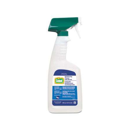 COMET DISINFECTING CLEANER WITH BLEACH 32OZ 8/CS