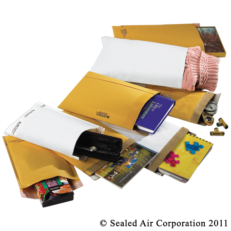 JIFFYLITE MAILER #6 12.5IN X 19IN SELF-SEAL GOLD