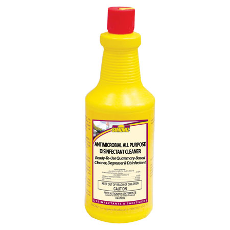 ANTIMICROBIAL ALL PURPOSE DISINFECTANT CLEANER 32OZ