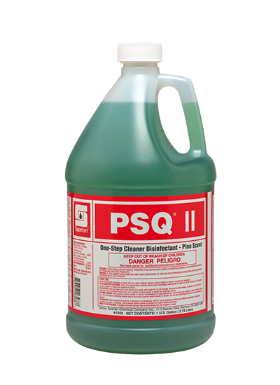 PSQ II DISINFECTANT CLEANER PINE SCENTED GAL 4/CS